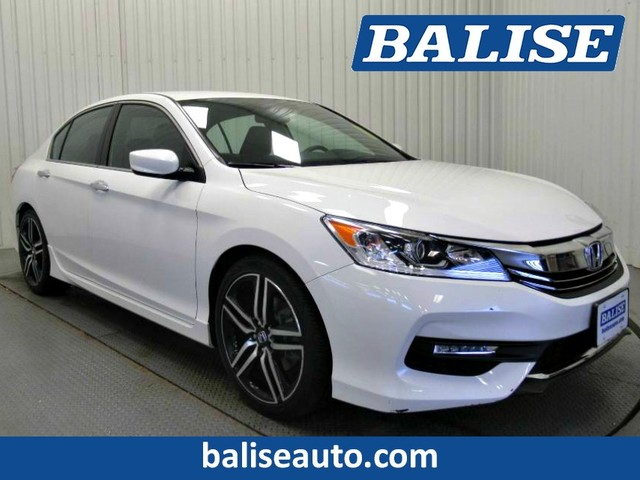 Pre-Owned 2016 Honda Accord Sport with Heated Leather Seats